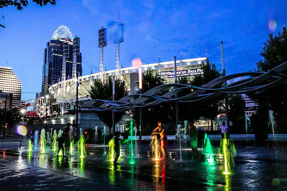 Cincinnati Color Fountains