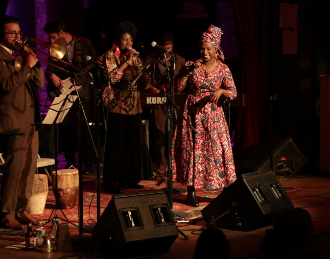 Angelique Kidjo performs at the Hope North Gala, photo credit: Greg Scaffidi