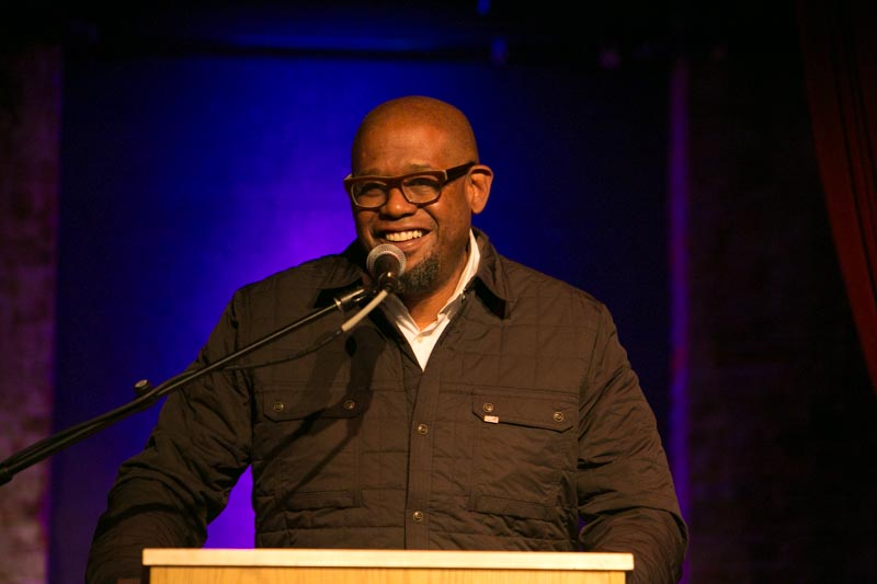 Honoree Forest Whitaker, photo credit: Phil Nee