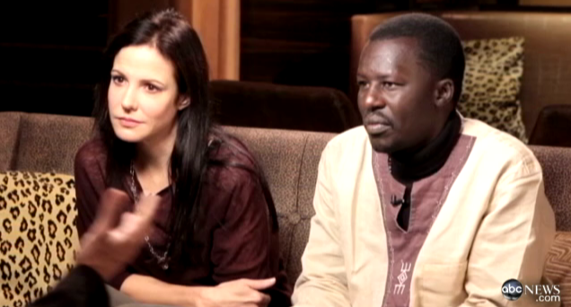 Mary-Louise Parker and Okello Sam talk Uganda on ABC's  Cause Celeb with Phillip Bloch