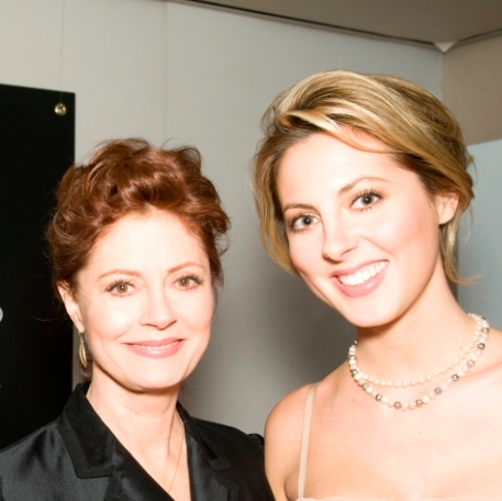 Susan Sarandon and Eva Amurri host 2010 Critics' Choice Awards after-party to benefit Heifer International. (Heifer International)