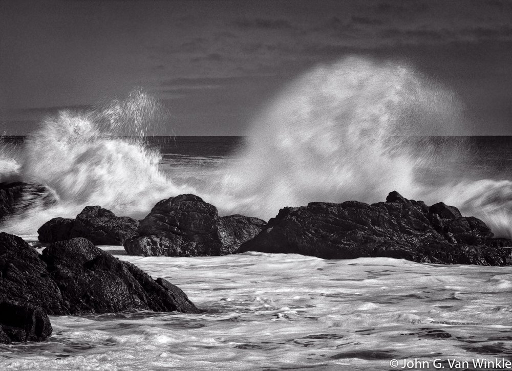 Wave Action, Pebble Beach, California