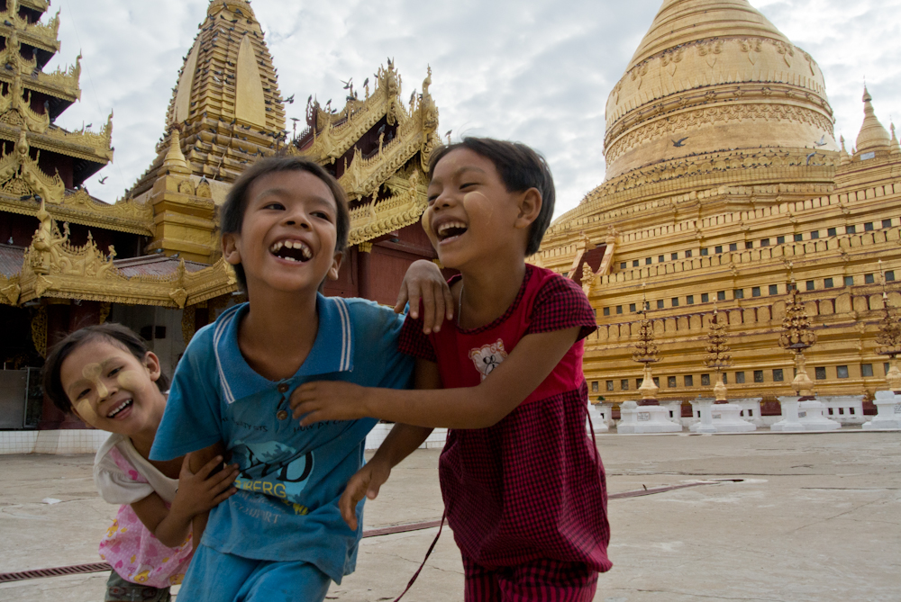 Children in Bagan, November 2012.