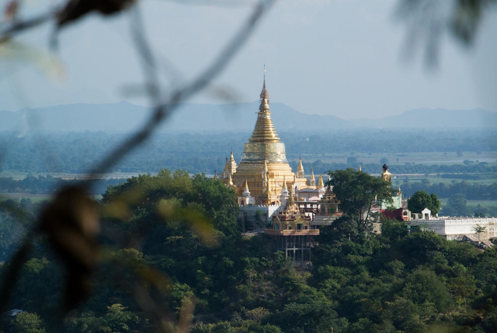 Top of the hill, Mandalay, November 2012.