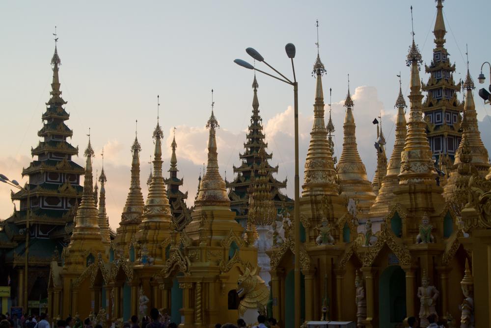 Shwedagon pagoda, Yangon, November 2012.