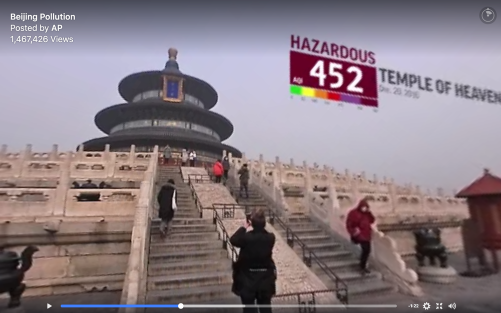 Temple of Heaven pollution 360