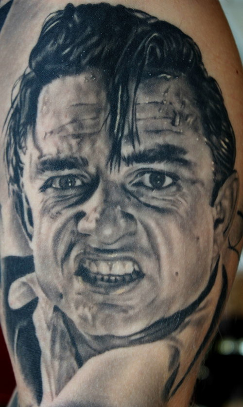 Johnny Cash Cardinal Tattoo