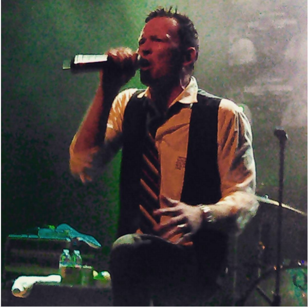 My last photo of Scott Weiland (albeit on a cell phone camera), taken at his show with The Wildabouts at The Music Box in San Diego, CA on November 3rd, 2015.