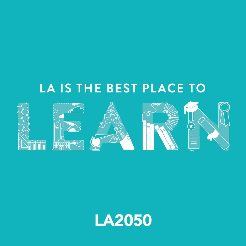 LA2050 Campaign Design and Branding