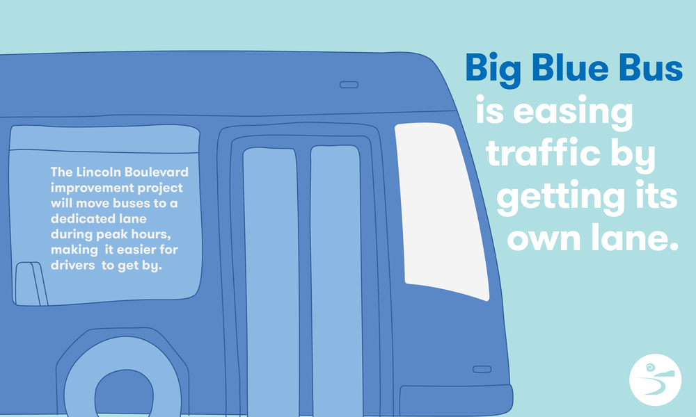 Digital media for the Santa Monica Big Blue Bus