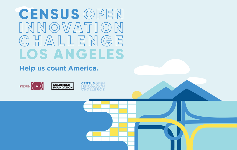 Census 2020 - The Innovation team of the U.S. Census Bureau came to the Goldhirsh Foundation looking for community partners to help prepare for the 2020 Census. The outcome was a daylong event, convening local leaders and community organizers to design strategies on how to engage the Bureau's