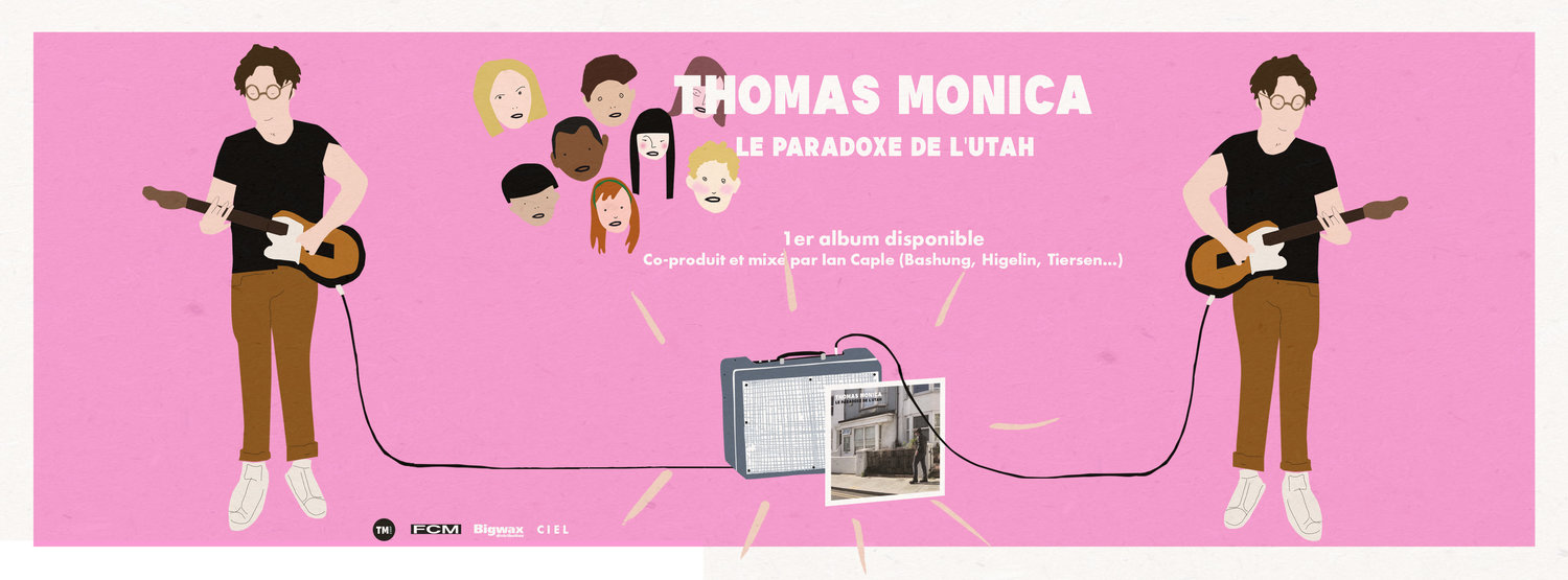 THOMAS MONICA I 1ER ALBUM DISPONIBLE