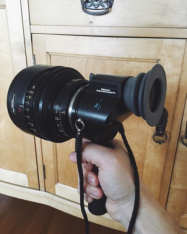 Weapon for today #directorsviewfinder