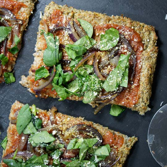 Vegan Pizza  by Detoxinista