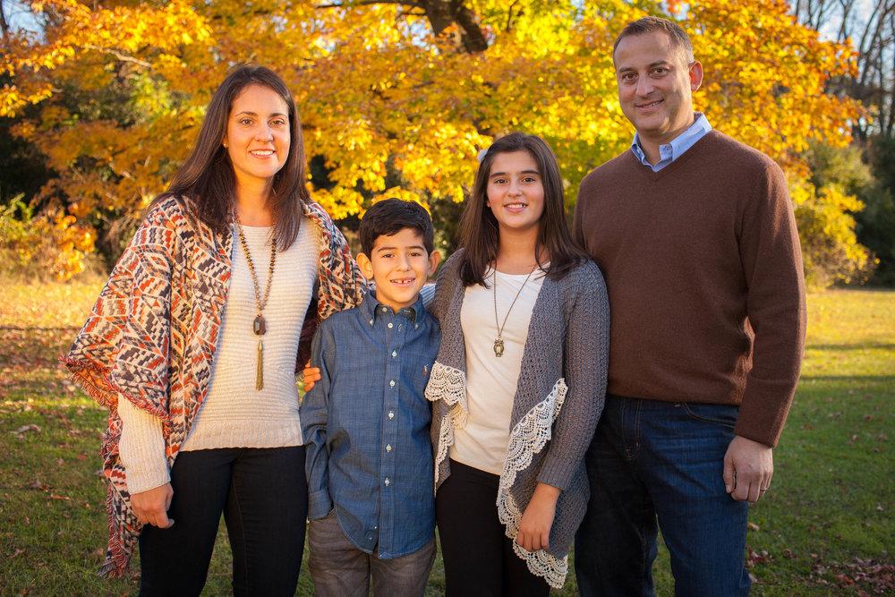 Busse Woods Family Portrait