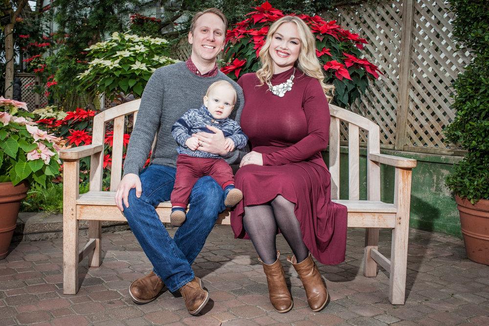 lincoln park conservatory family portrait