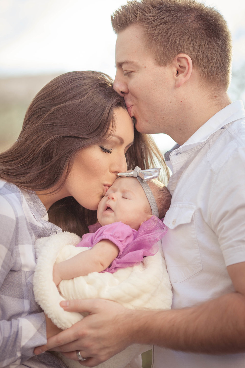 Three Months Old and So Adorable (Chicago Family Photographer)