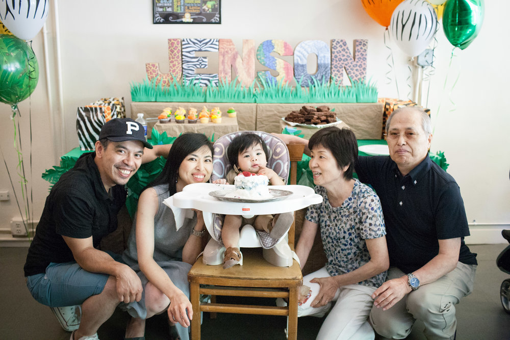 Chicago Family Photography First Birthday Photoshoot