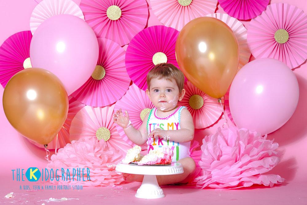 Chicago Family Photographer Cake Smash
