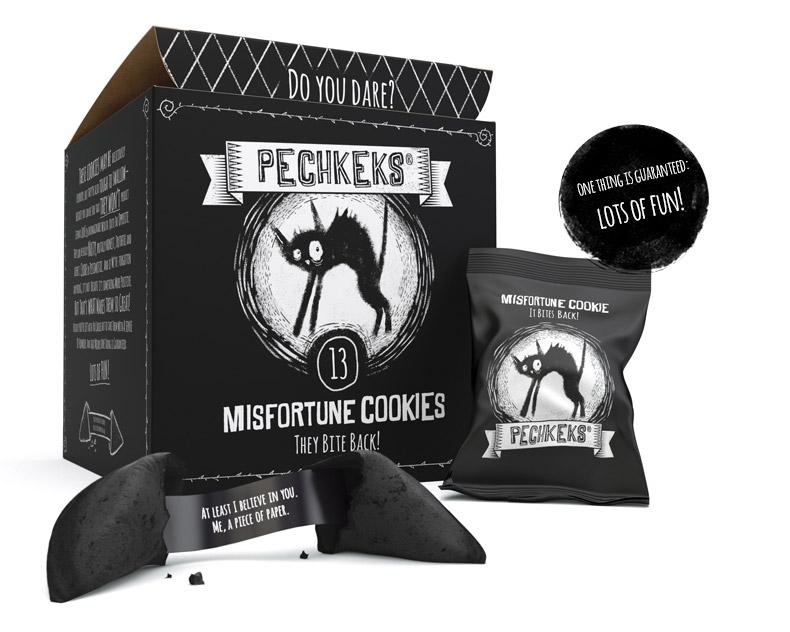 Misfortune Cookies Packaging