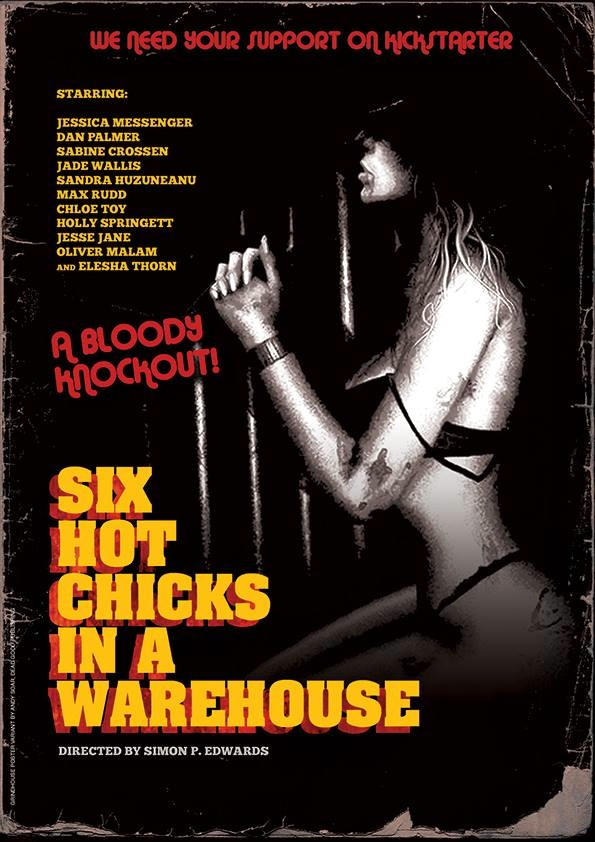 Hot Chicks Horror Poster