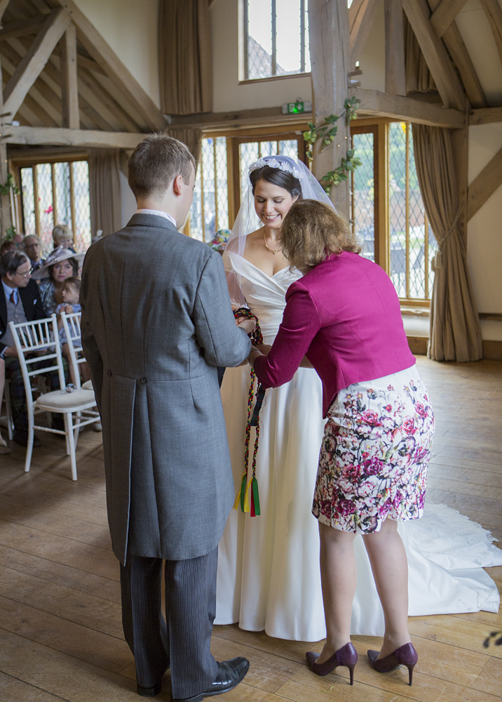 """""""Annie also put our parents at ease about the idea of having a independent celebrant conducting our ceremony."""" - Kirsty & Attie – Summer 2017"""