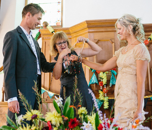 """""""You really helped us to pull together our day and give it structure whilst adding that special something."""" - Lisa & Chris – Hand Fasting CeremonySummer 2018"""