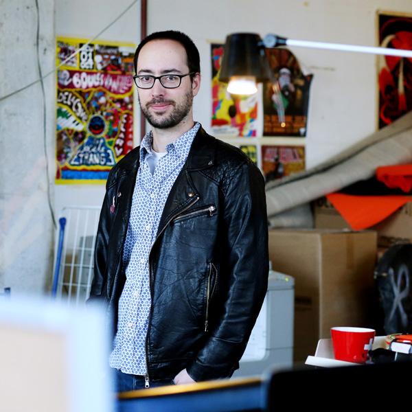 Mathieu, 33 ans, programateur musicale à l'Usine.