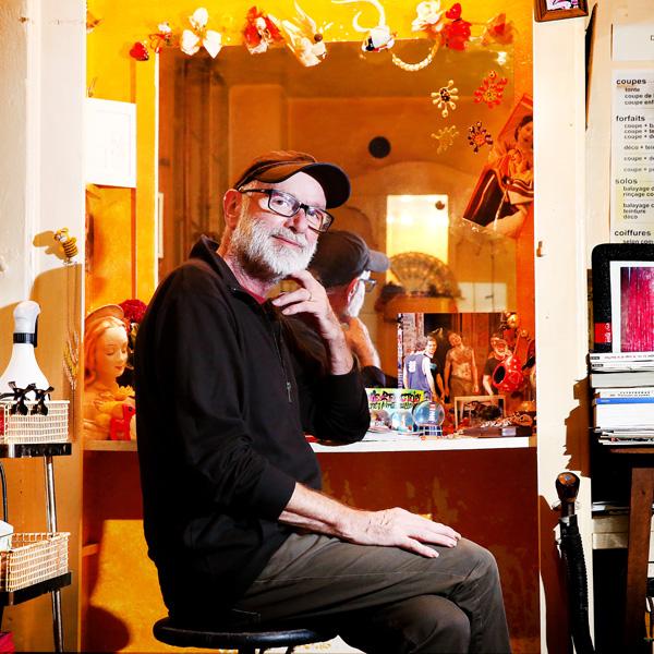 Michel, 70 ans, coiffeur à l'Usine.