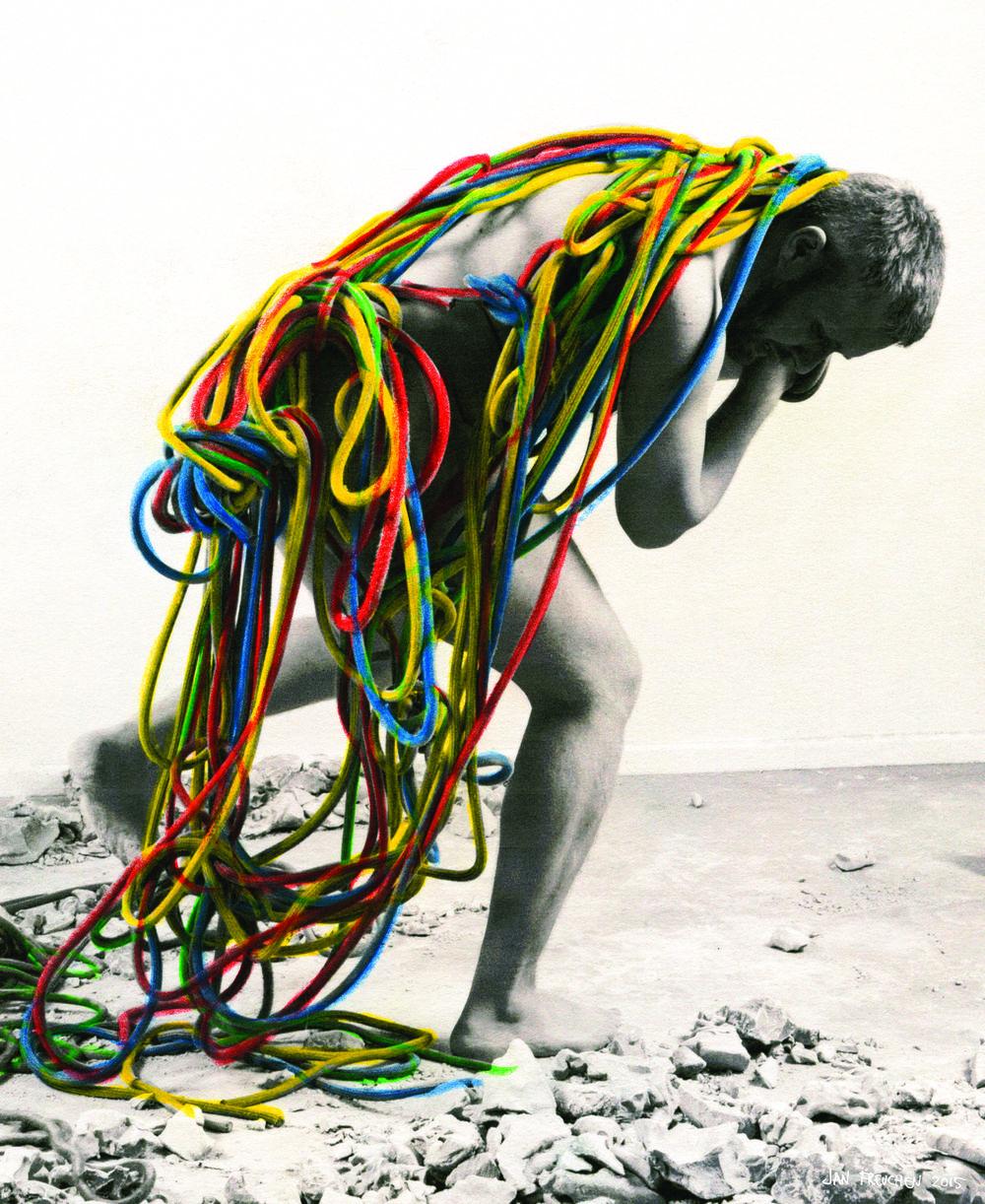 Olympia av Jan Freuchen. Kunstnerens bidrag til kampanjen #utstillingsavtalen.