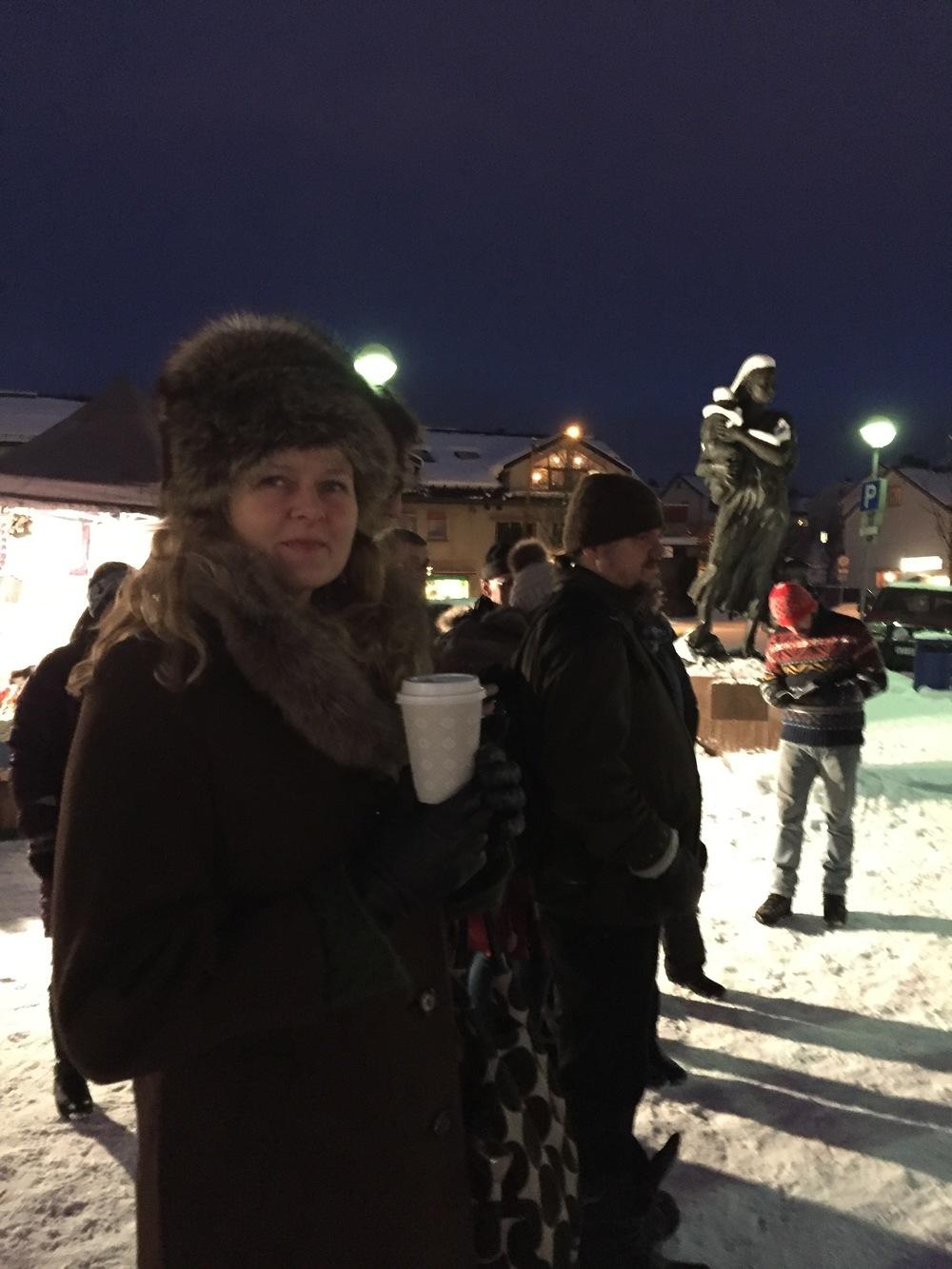Vibeke Christensen på Barents Spektakel