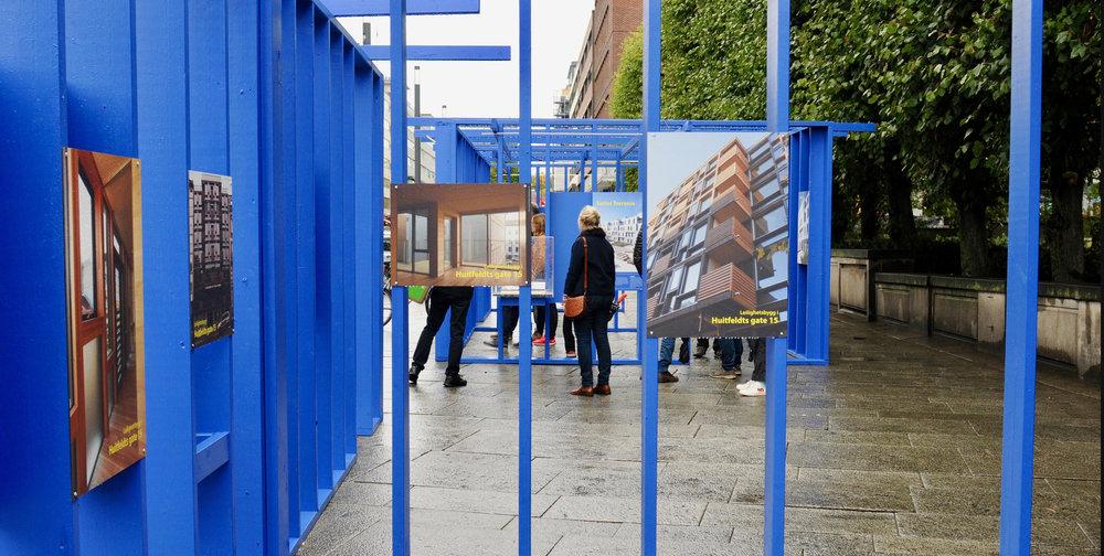 Utstilling for Oslo bys arkitekturpris 2018.