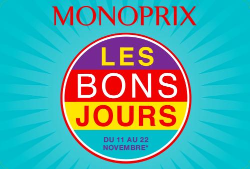 Monoprix – Les Bons Jours de Novembre