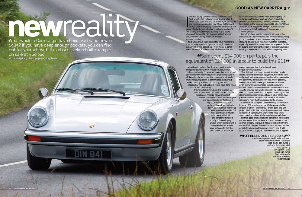 Magazine Article Precision Porsche 3.2
