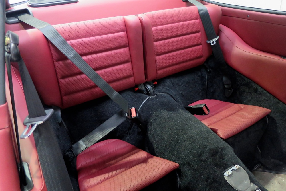 Porsche 964 Backdate rear seats