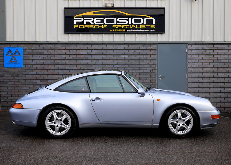 1996 Porsche 993 Targa for Sale - 57,000 miles — Precision Porsche ...