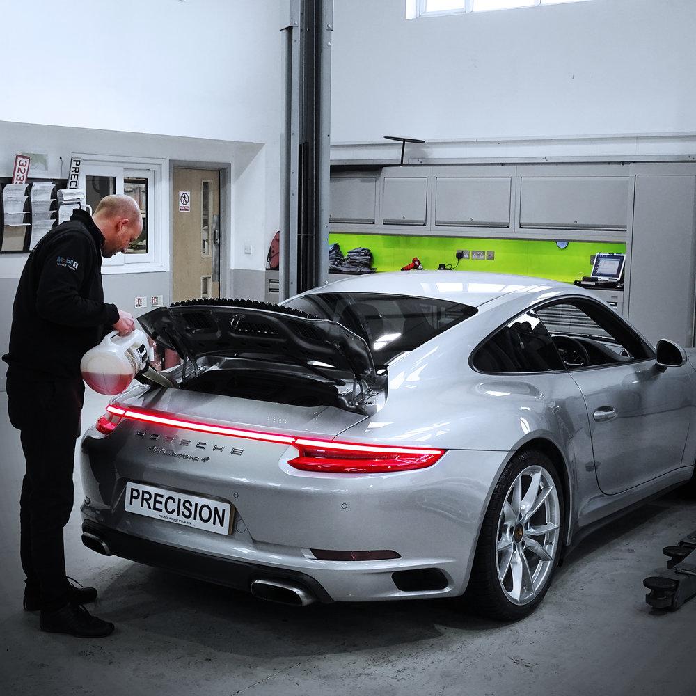 Precision Porsche Cayman Servicing