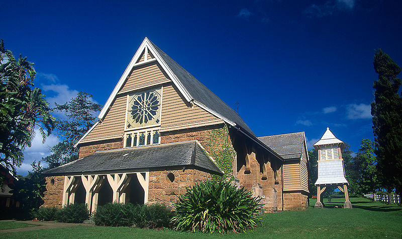 St Barnabas Chapel in Norfolk Island