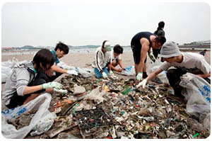International Coastal Cleanup Day -  Held annually during the second or third Saturday of September.