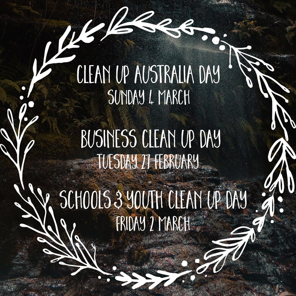 Image courtesy of Clean Up Australia Day