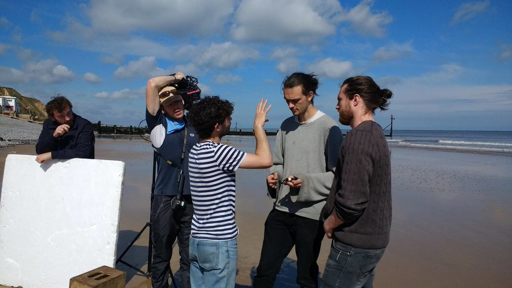 On location with  After the Sea .