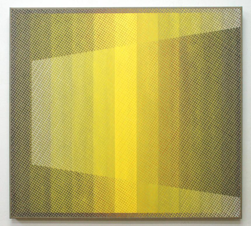 Shifting Perception 100x110cm, 2016 Acrylic on canvas
