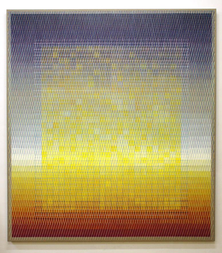 Outer Edge 200x180cm,2017 Acrylic on canvas