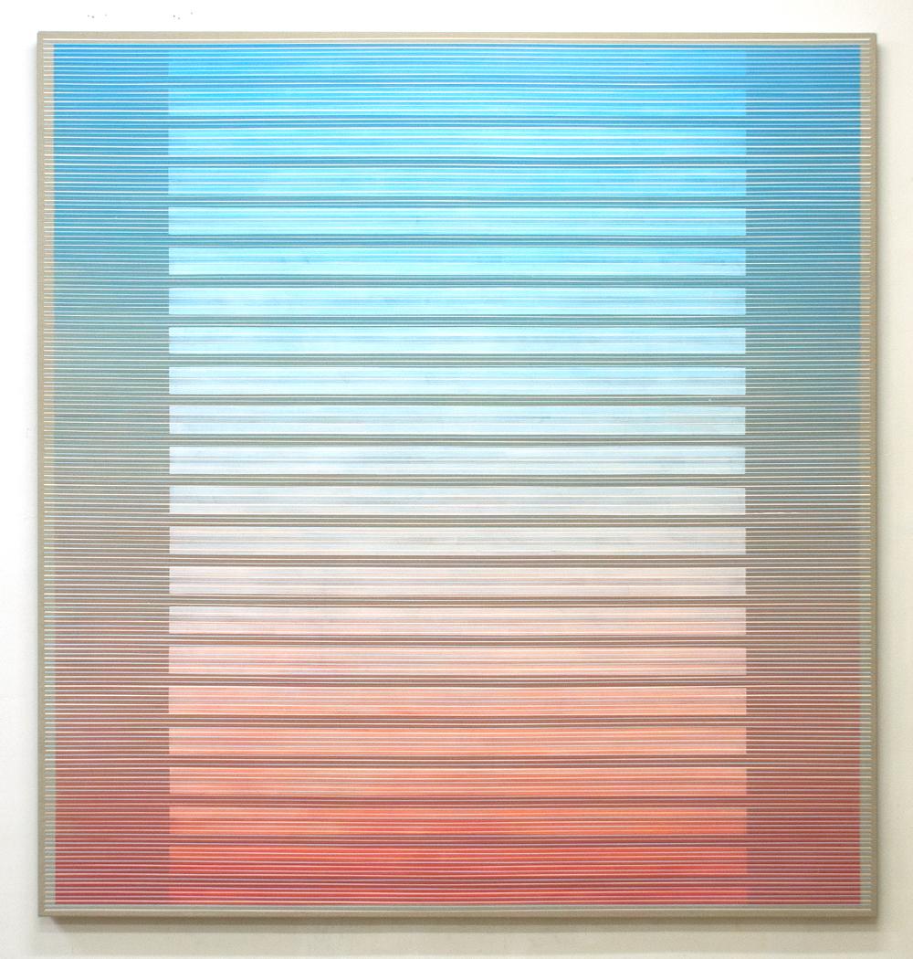 Approach, 200x190cm, 2017 Acrylic on canvas