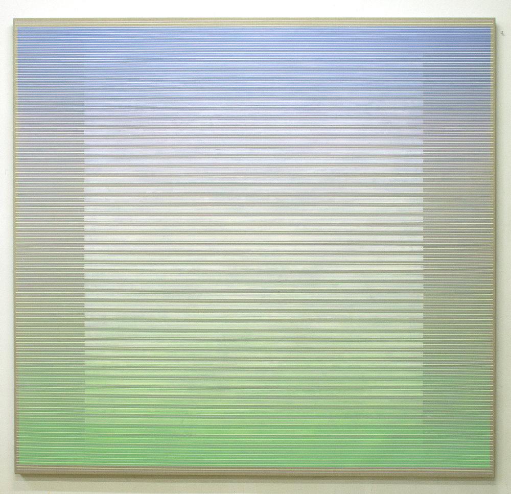 A New Threshold 190x200cm, 2017 Acrylic on canvas