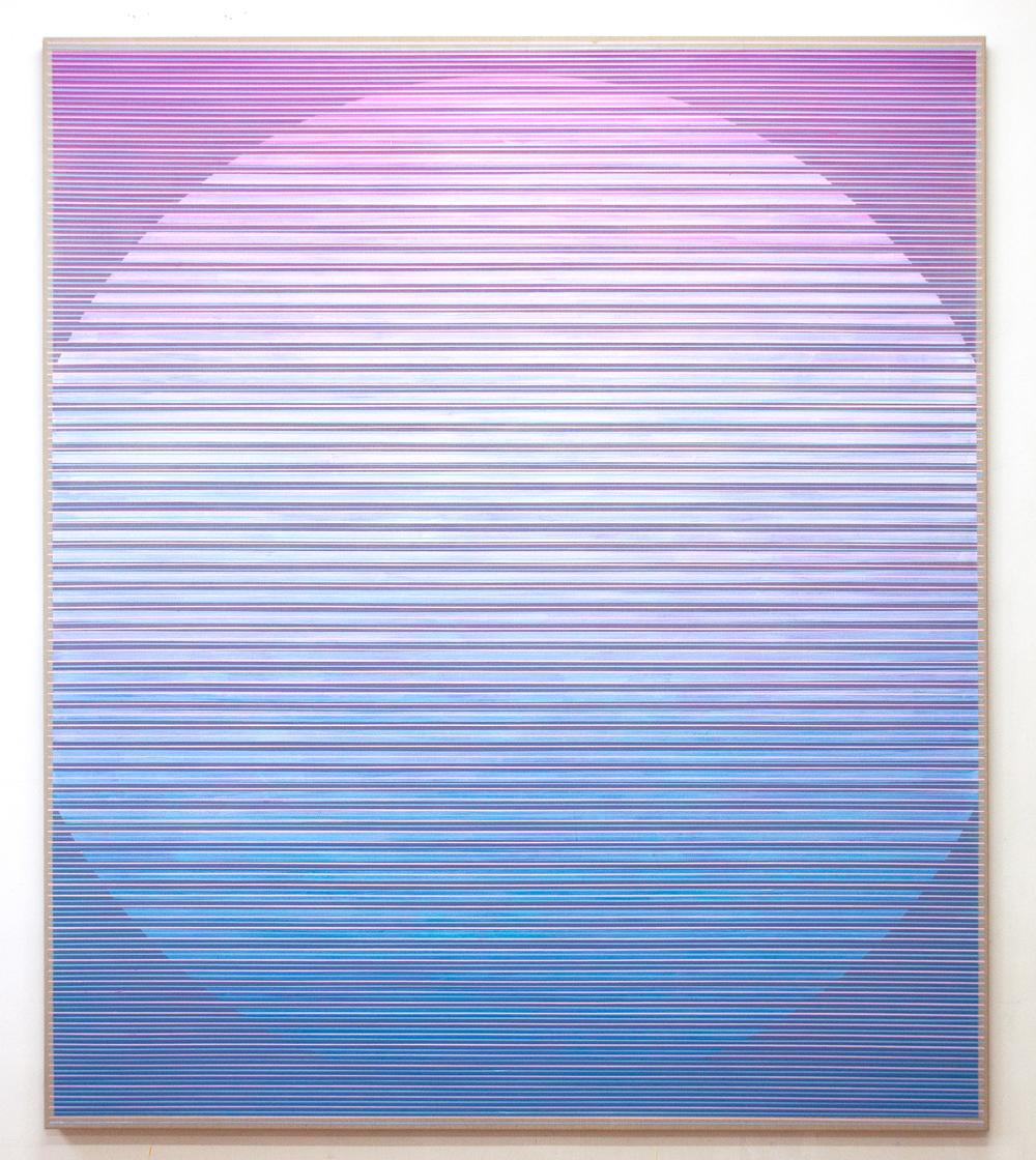 Quiet Presence 220x190cm, 2017 Acrylic on canvas