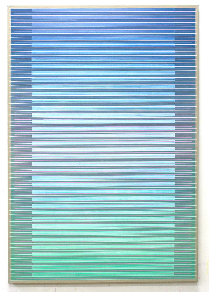 Intervening Horizons 160x110cm,2017 Acrylic on canvas