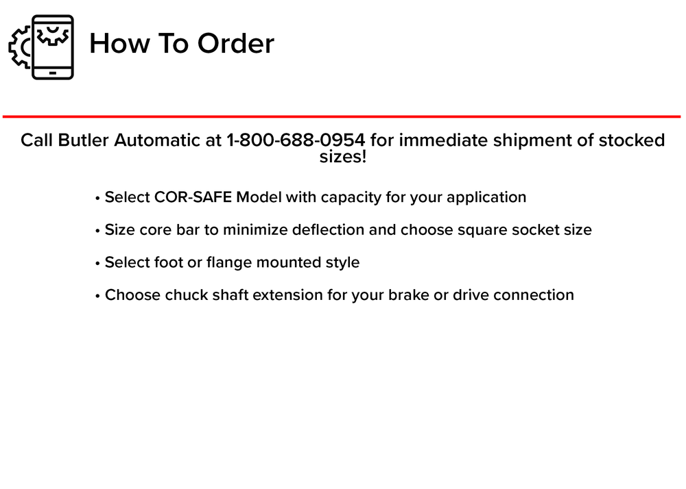 how to order hydralign safety chucks