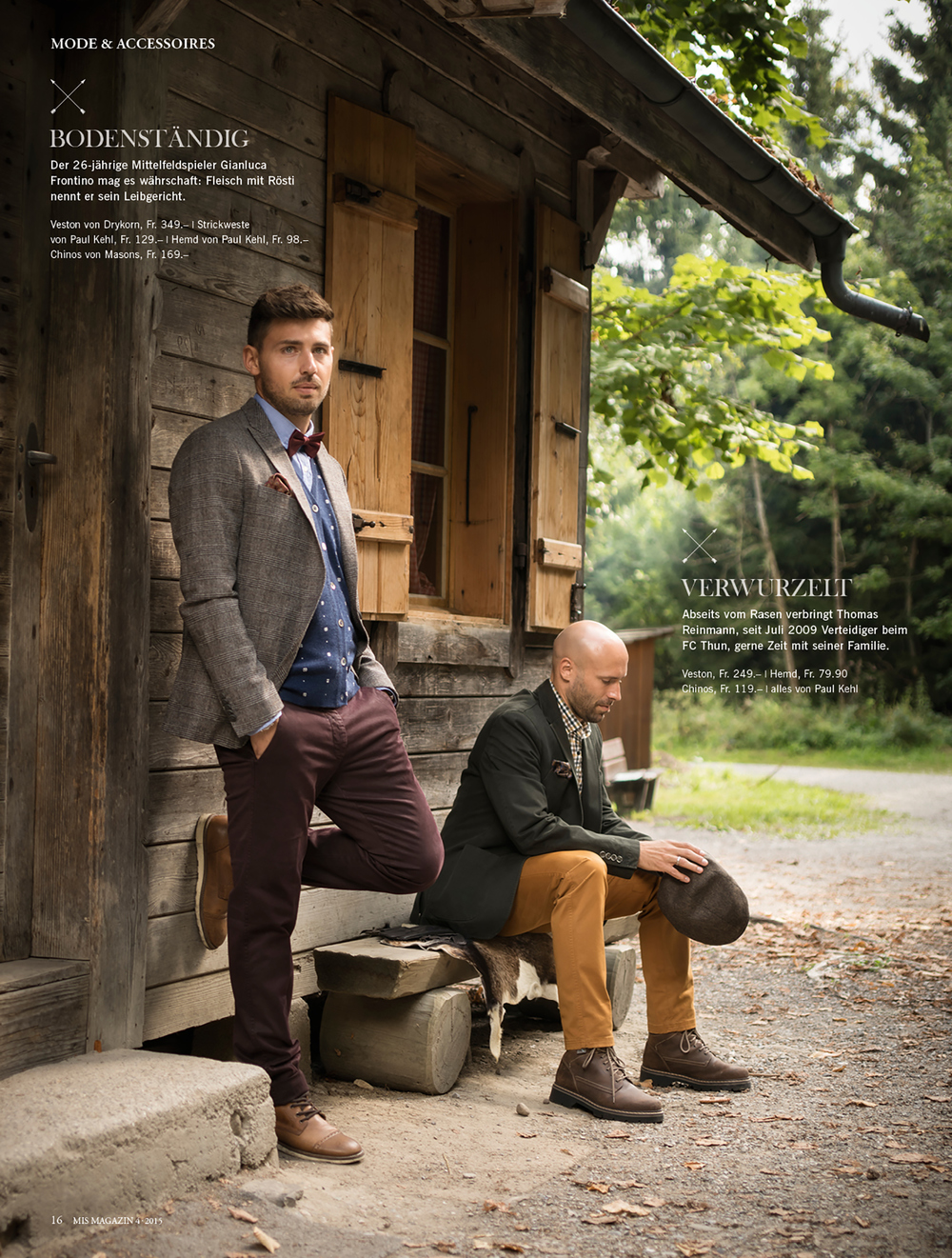 gianluca frontino & thomas reinmann for mis magazin