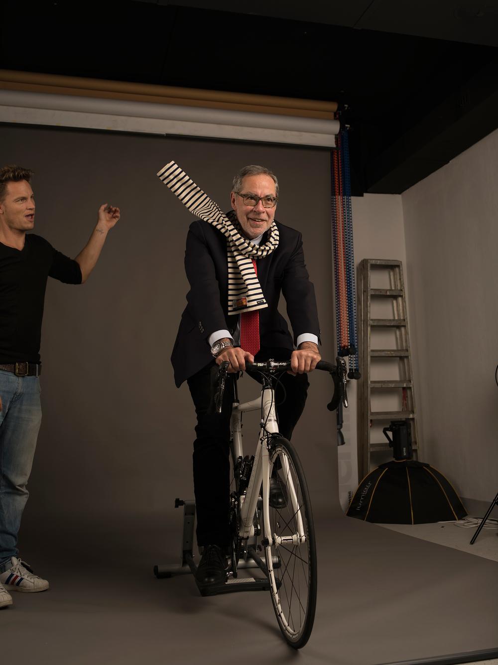 Thilo Larsson macht seine Sache als Assistent prima ;-)...